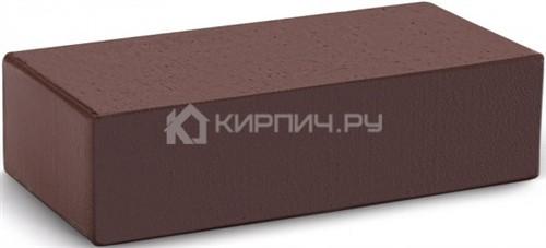 Кирпич облицовочный темный шоколад одинарный гладкий полнотелый М-300 КС-Керамик цена