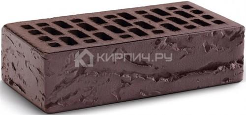 Кирпич для фасада темный шоколад одинарный кора дерева М-150 КС-Керамик цена