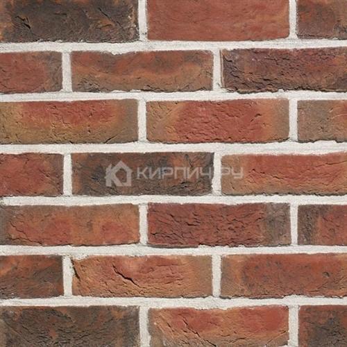 Кирпич для фасада Terca (Wienerberger) KASTANJEBRUIN ручная формовка 215х102х65