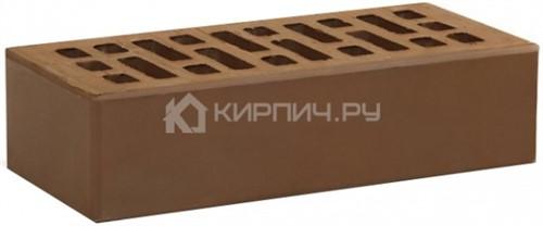 Кирпич одинарный терракот гладкий М-150 УС Воротынск