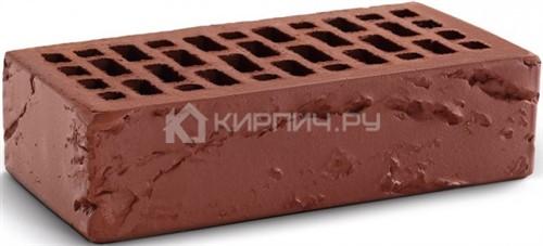 Кирпич одинарный терракот кора дерева М-150 КС-Керамик в