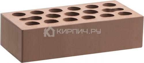 Кирпич облицовочный светлый одинарный гладкий М-150 Керма в