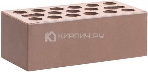 Кирпич  М-150 терракот светлый полуторный гладкий Керма