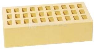 Кирпич для фасада жемчуг одинарный гладкий М-175 УС Воротынский кирпич
