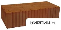 Кирпич строительный полнотелый одинарный М-125 рифленый Ржевкирпич цена