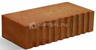 Кирпич строительный полнотелый одинарный М-150 рифленый Фокино цена