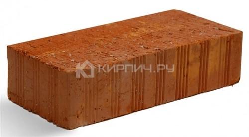 Кирпич строительный полнотелый одинарный М-150 рифленый Липки