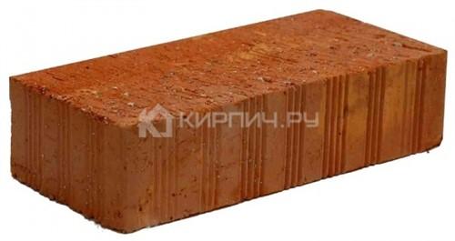Кирпич керамический полнотелый одинарный М-150 рифленый Ломинцево цена