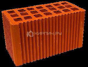 Кирпич строительный щелевой двойной М-150 рифленый Михневская керамика
