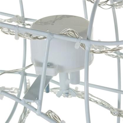 Гирлянда Олень белый 220 ламп высота 1 м для улицы