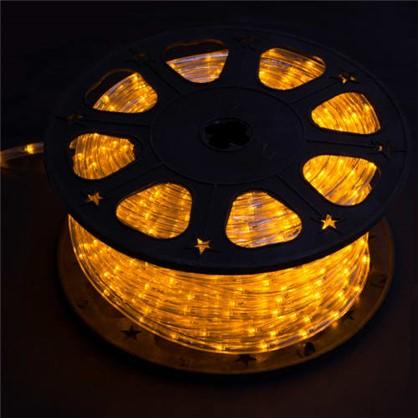 Гирлянда для улицы дюралайт жёлтый 50 м 24 лампы цена