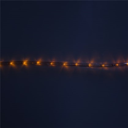 Гирлянда для улицы дюралайт жёлтый 50 м 24 лампы