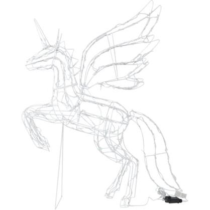 Гирлянда-фигура Единорог 200 светодиодов цена