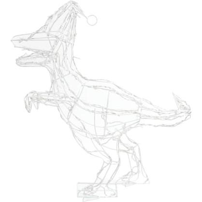 Гирлянда-фигура светодиодная Динозавр для улицы 120 ламп цвет холодный белый