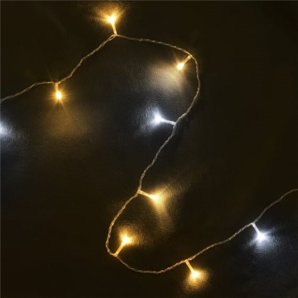 Светодиодная гирлянда Balance Бахрома для улицы 72 лампы 3 м цвет тёплый белый цена
