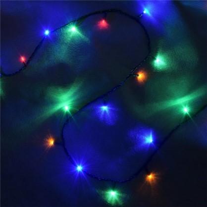 Светодиодная гирлянда Balance Нить для дома 300 ламп 23 м цвет мультиколор цена