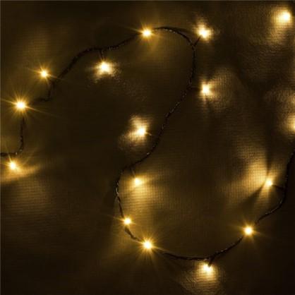 Светодиодная гирлянда Balance Нить для дома 50 ламп 5 м цвет тёплый белый цена