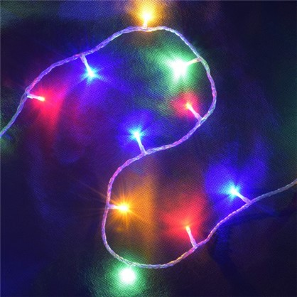 Светодиодная гирлянда Занавес для улицы 96 ламп 2 м цвет мультиколор цена