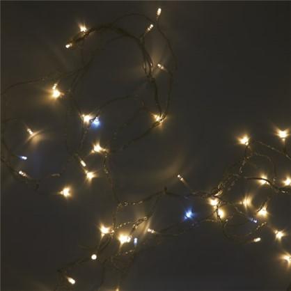 Светодиодная гирлянда для комнаты Uniel Бахрома ULD-B3010 200 ламп 3 м свет тёплый белый цена