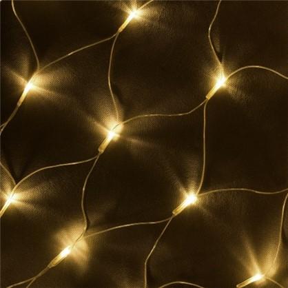 Светодиодная гирлянда для улицы 144 лампы 1.2 м цвет тёплый белый