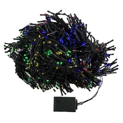 Гирлянда-занавес 800 ламп мультиколор для улицы
