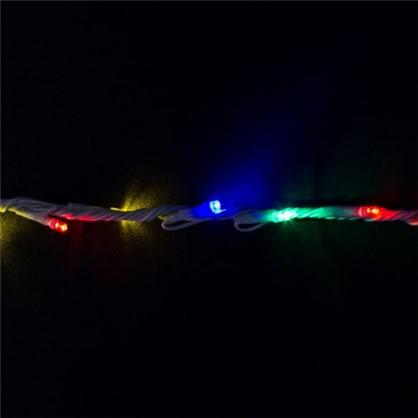 Гирлянда-занавес Водопад 480 ламп мультиколор для улицы