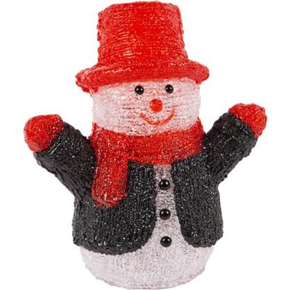 Фигура светодиодная Uniel Снеговик