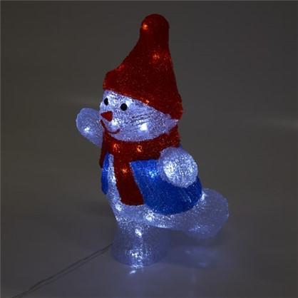 Фигура светодиодная Uniel Снеговик-2 цена