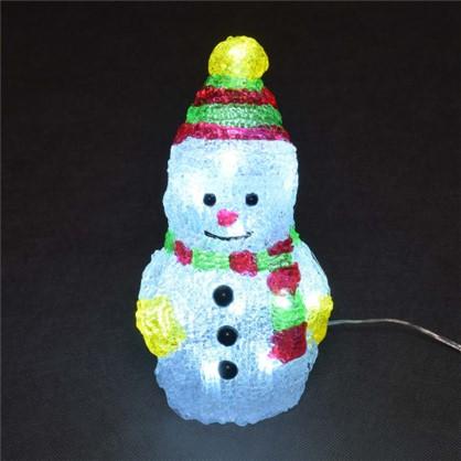 Фигурка Balance Снеговик 10 см цвет белый