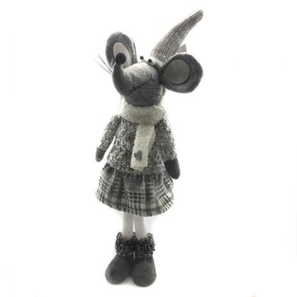 Фигурка Мышка Серая 54 См цена