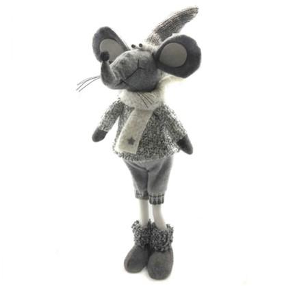 Фигурка Мышонок Серый 54 См цена