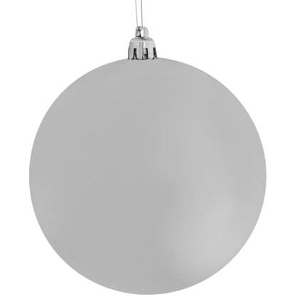Набор Елочных Шаров 10 См Цвет Серебро 24 Шт. цена