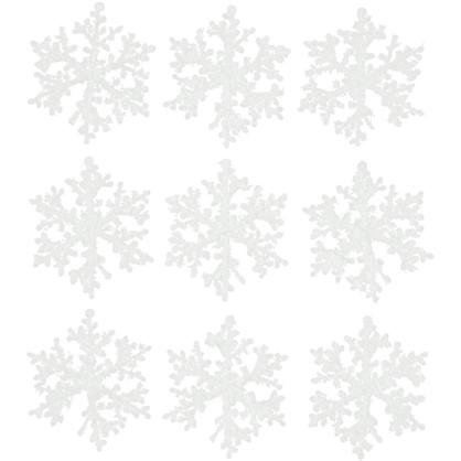 Набор Елочных Украшений Снежинки 7 См цена