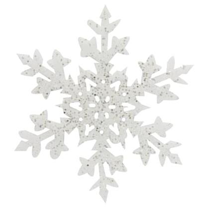 Украшение Снежинка 25 См цена
