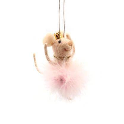 Украшение Новогоднее Мышка-Балерина 12 См