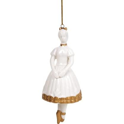 Украшение Елочное Балерина 15 См Фарфор цена