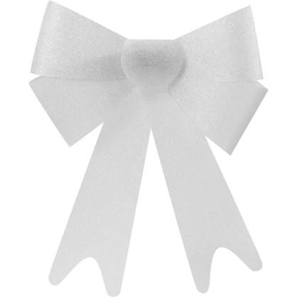 Украшение Елочное Бант Из Парчи 30 См Текстиль Цвет Серебро цена