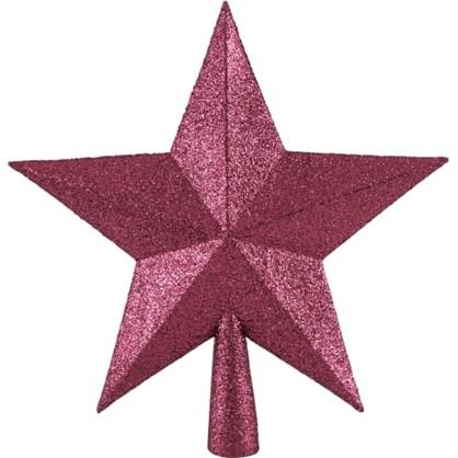 Верхушка Для Елки Звезда 23 См