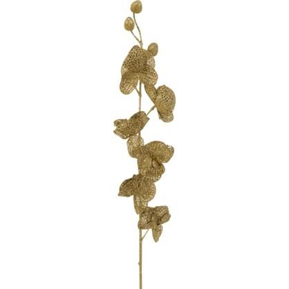 Ветка Золотая С Цветочками