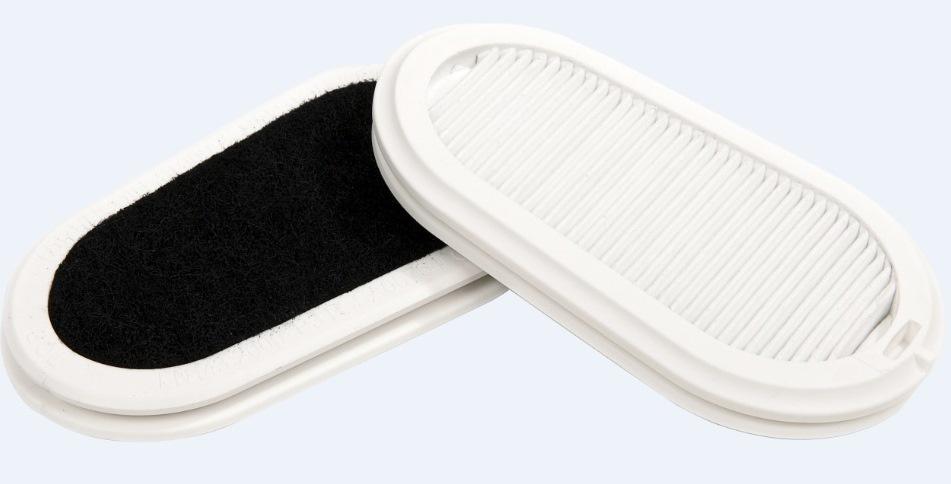 Набор сменных фильтров GVS Elipse P3 с защитой от запаха для респираторов-полумасок SPR337/502 2 шт