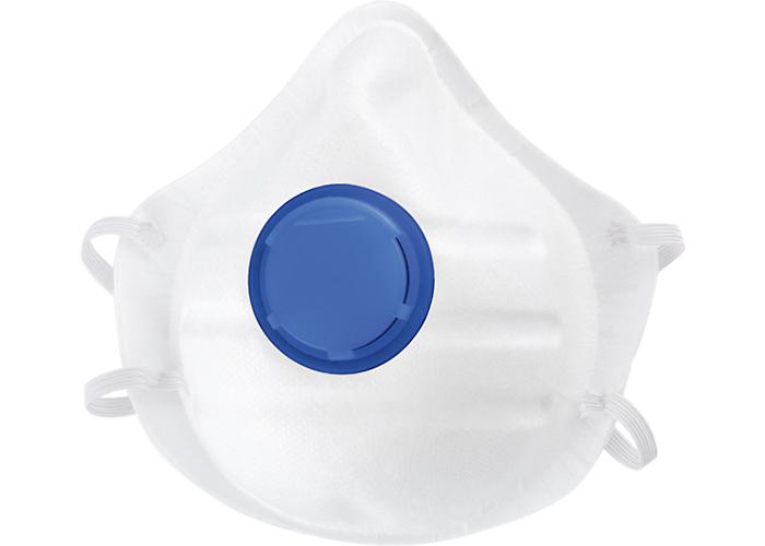 Полумаска фильтрующая (респиратор) с клапаном выдоха Сибртех FFP1 NR 3 шт.