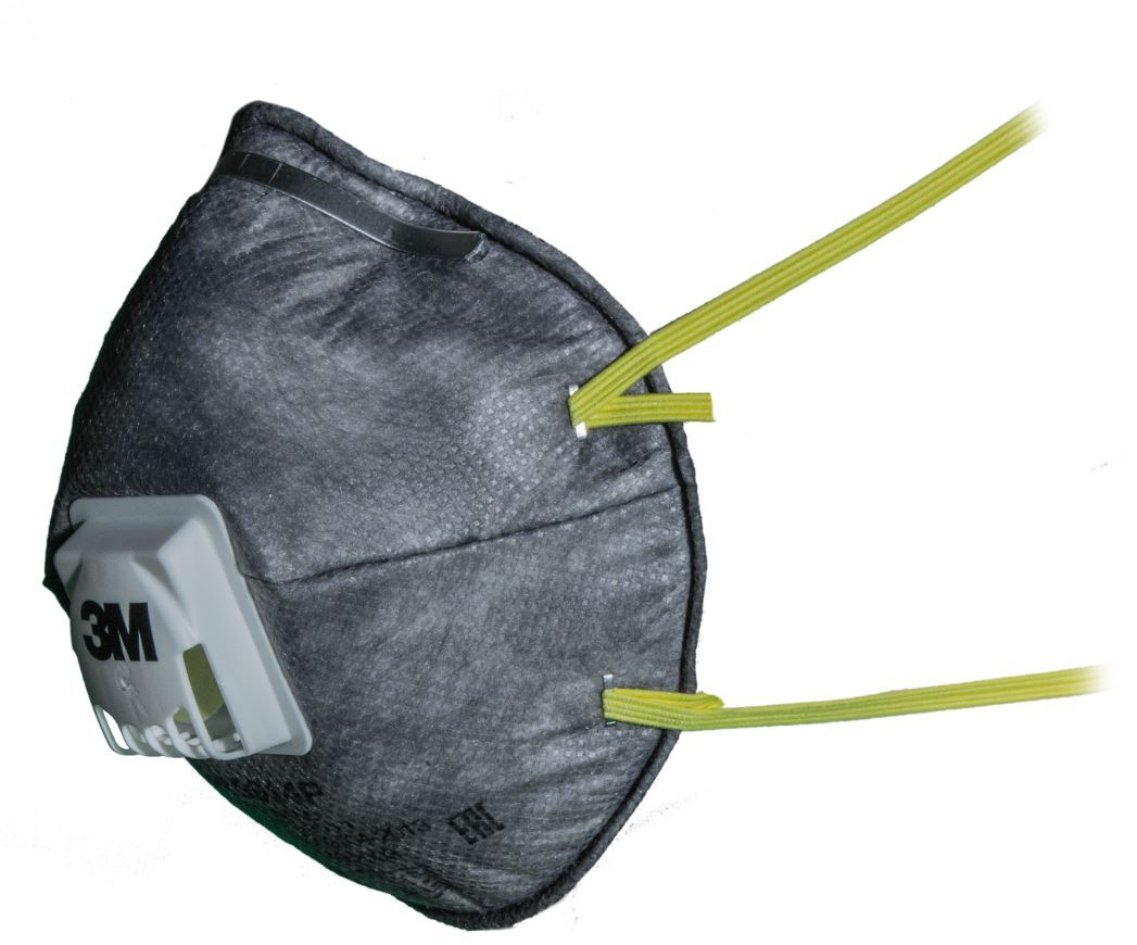 Полумаска с дополнительной защитой от паров органических веществ 9914P FFP1 10 шт./уп. NR D с клапаном выдоха